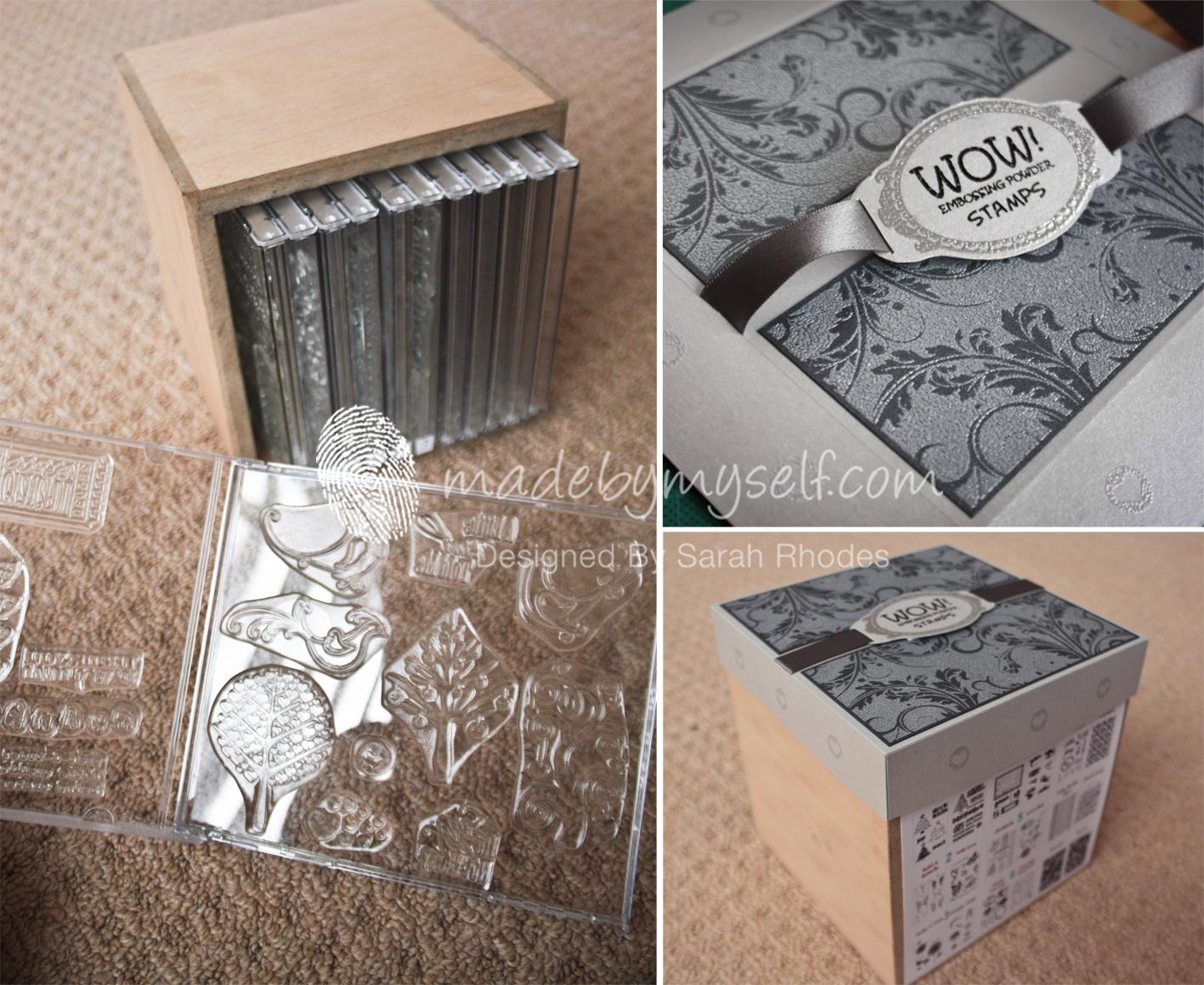& Handy Stamp Storage Idea