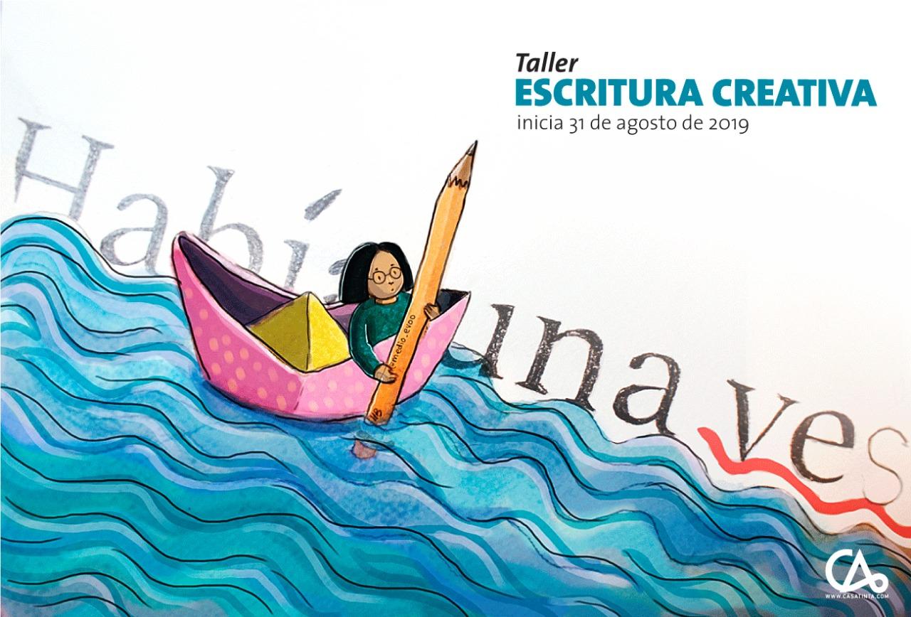 ESCRITURA CREATIVA // agosto 31