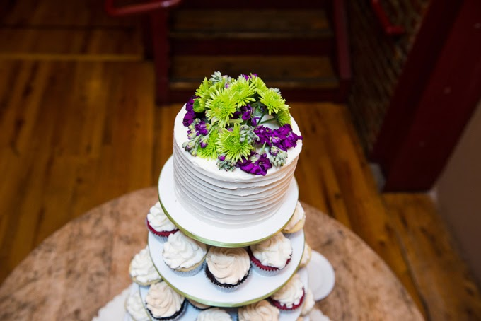 Purple and Green Nashville Wedding: Amanda and Garrett