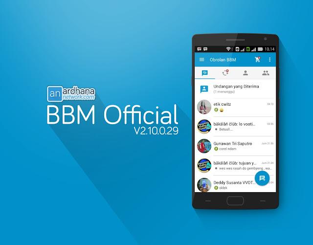 BBM Official V2.10.0.29