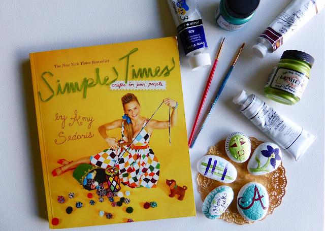 Amy Sedaris, crafts, DIY, do it yourself, books, craft book, book revew, crafting, rocks, paint, painted rocks