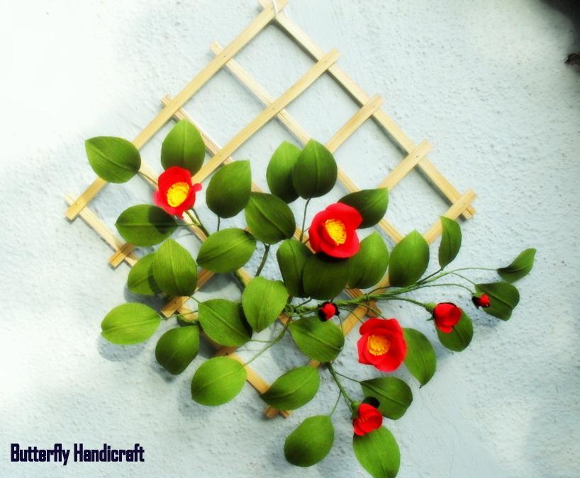 Butterfly handicrafts beautiful paper flower arrangement beautiful paper flower arrangement mightylinksfo