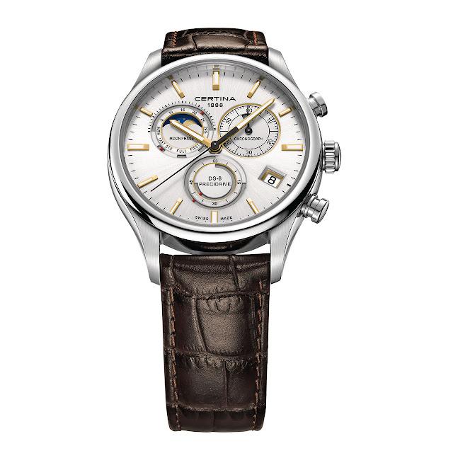 Certina Chronographe DS-8 Phase de Lune Watch