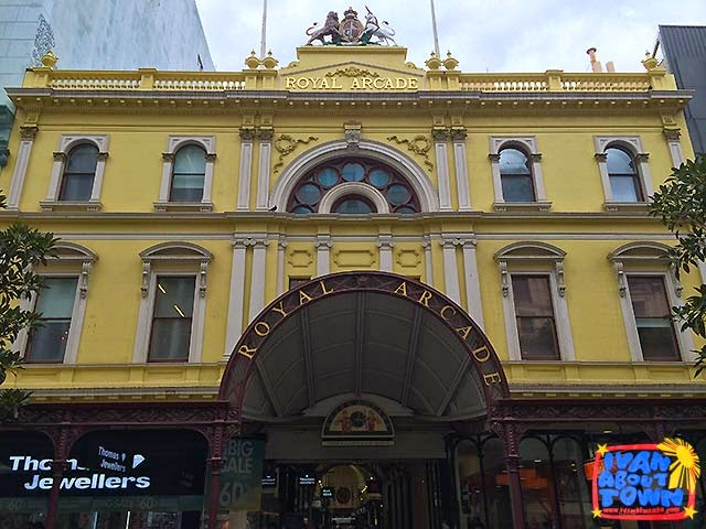 Royal Arcade in Melbourne, Australia