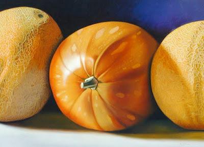 Bodegon de Pina y Melon