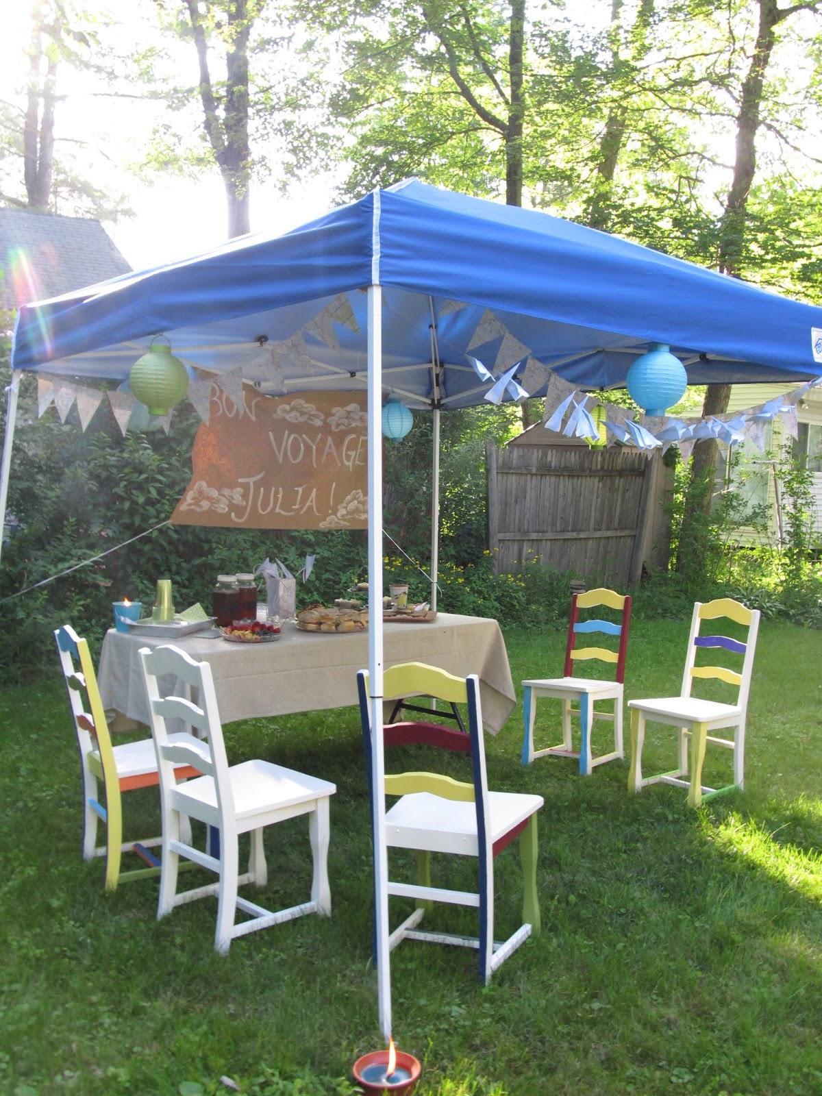 kitchen floor crafts bon voyage party
