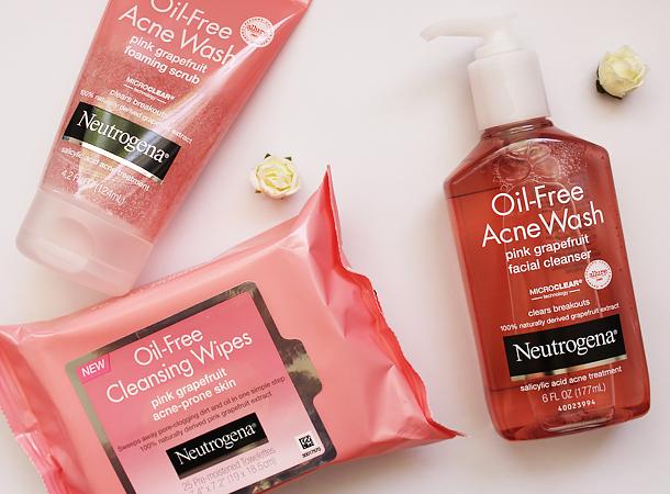 neutrogena oil free pink grapefruit giveaway selfie