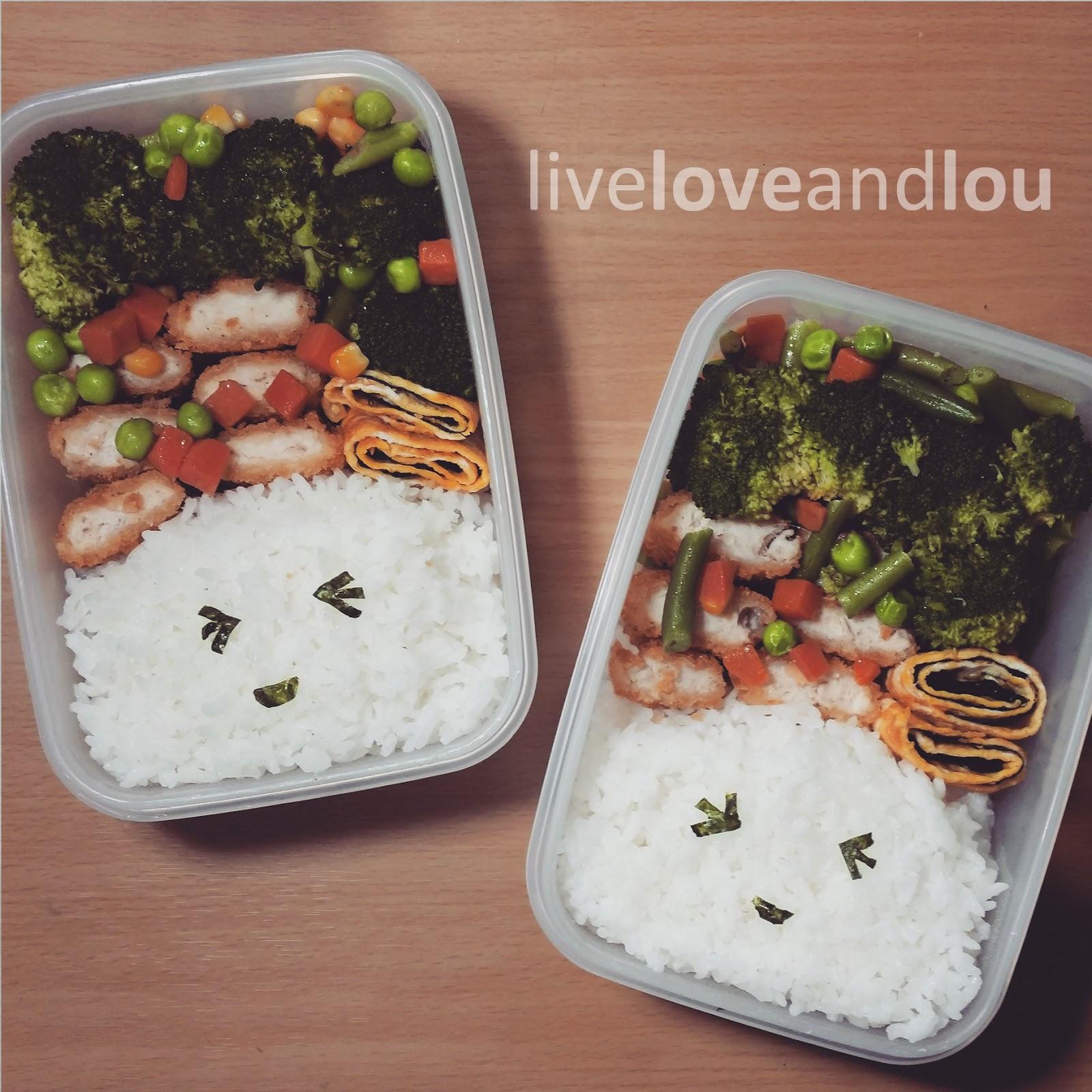 bento lunch box live love lou. Black Bedroom Furniture Sets. Home Design Ideas