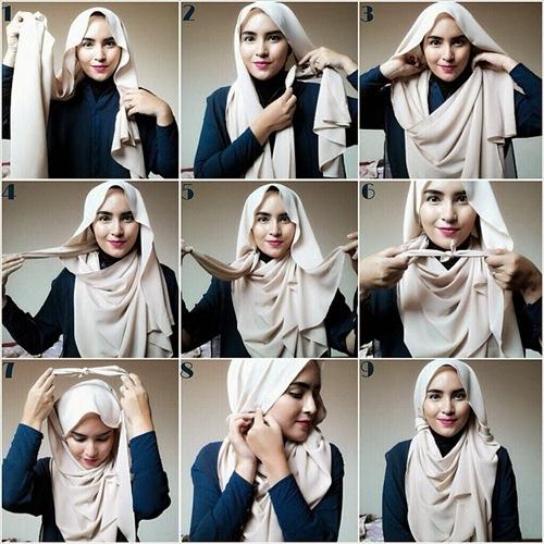 Jilbab Hijab Cantik Tutorial Cara Terbaru Untuk Kaum Hawa
