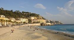 Le château de Nice et la mer