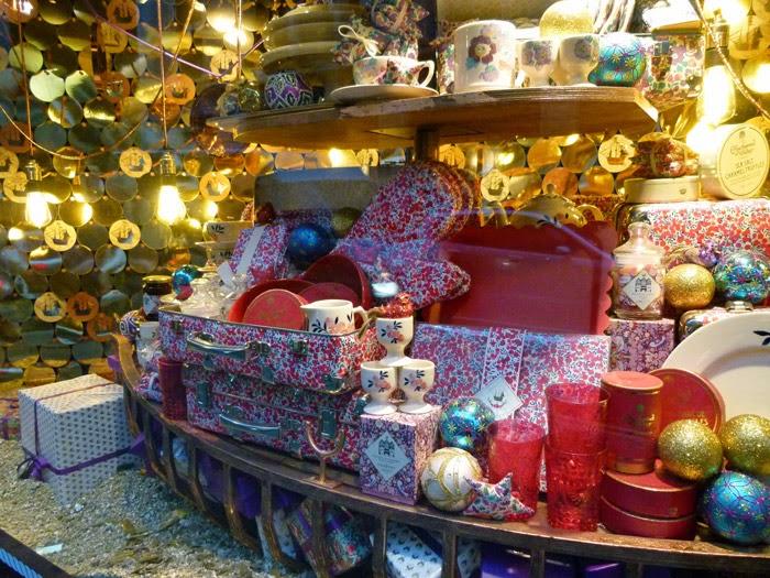 Liberty's of London, Christmas shop, visit Britain