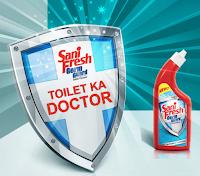 Get Free sample of Sanifresh Toilet Cleaner : BuyToEarn
