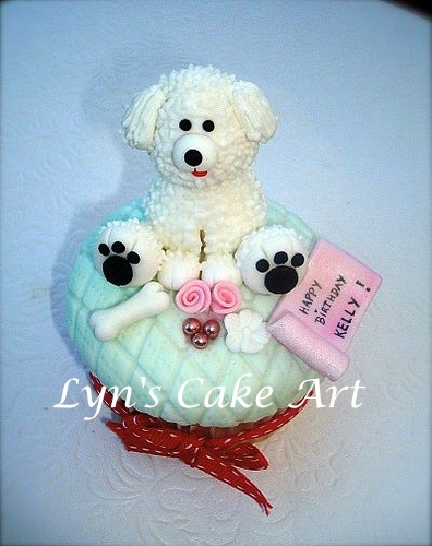 Cake Art Supplies Castle Hill : Lyn s Cake Art: Kelly s 40th cupcakes