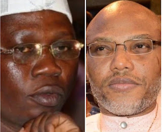 """Nnamdi Kanu Is A Nonentity"" – OPC Blasts Him Over His Negative Comments About Obasanjo"