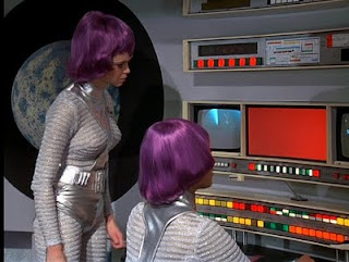 Moonbase Operatives in Gerry Anderson's UFO
