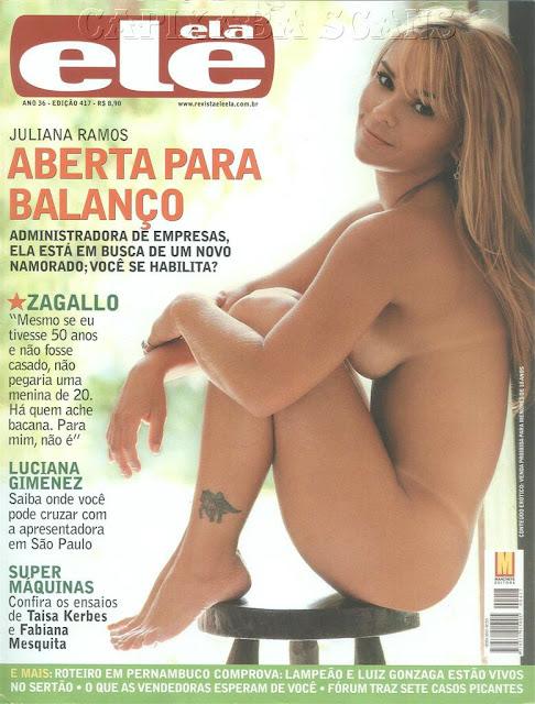 Juliana Ramos nua