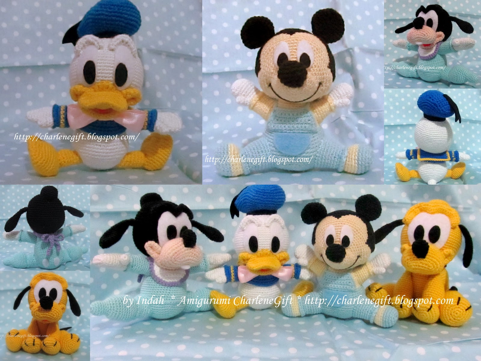 Free Patterns For Baby Mickey Mouse Amigurumi Joy Studio ...