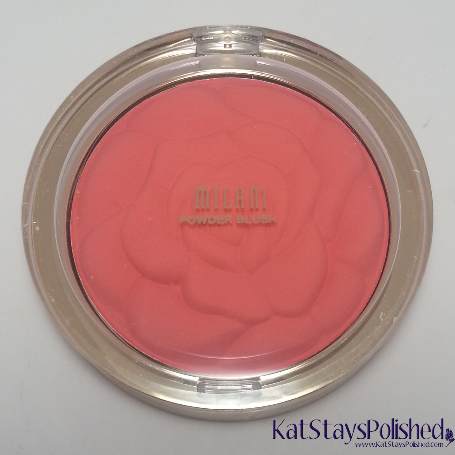 Milani Rose Powder Blush - Coral Cove | Kat Stays Polished