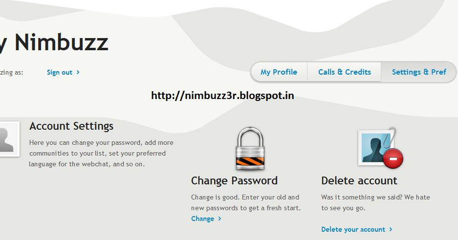 how to change id password
