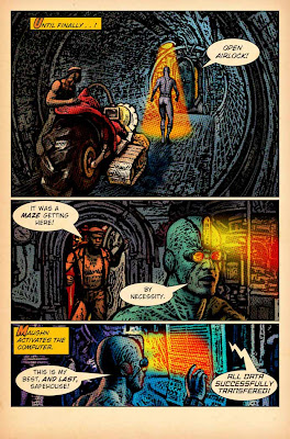 Brad Teare, comics, the subterranean
