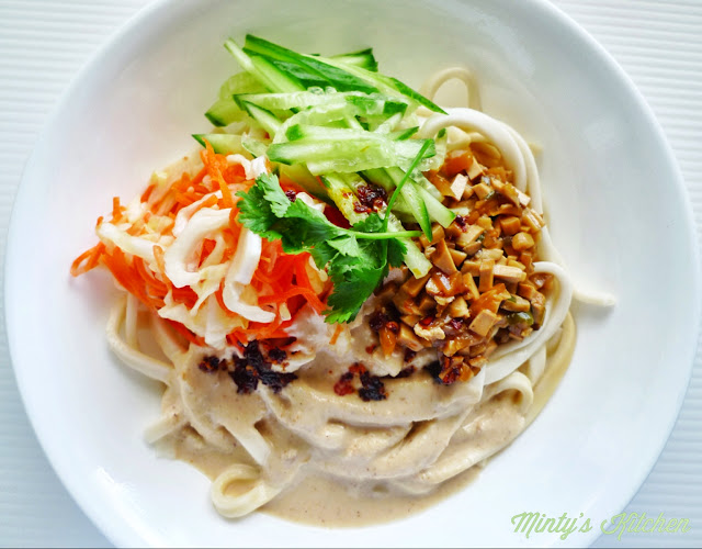 Sichuan Dan Dan Mian (Noodles)