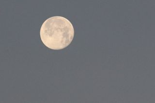 photo of full moon