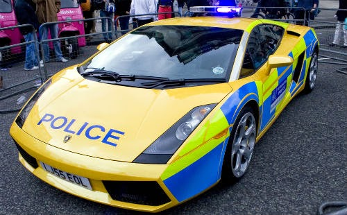 Image of london police car