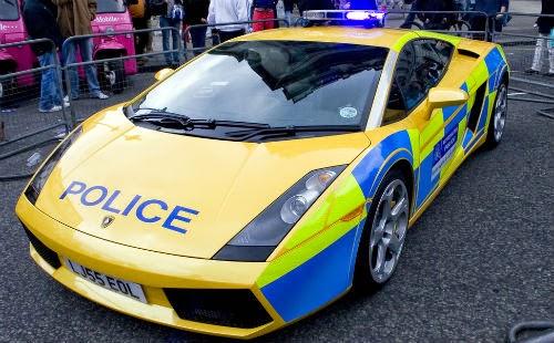 Image of london police car