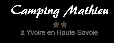 Camping Mathieu à Yvoire et Lac Léman
