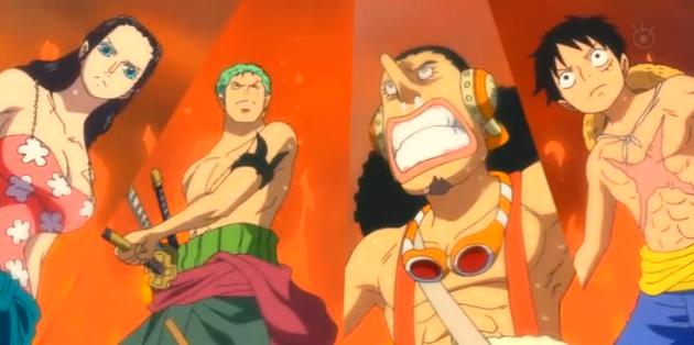 579: Ankunft! Punk Hazard, die brennende Insel! (Neue Welt Saga) One+Piece+579+animesfox-br.org