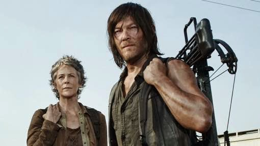 Norman Reedus y Melissa McBride The Walking Dead Consumed AMC