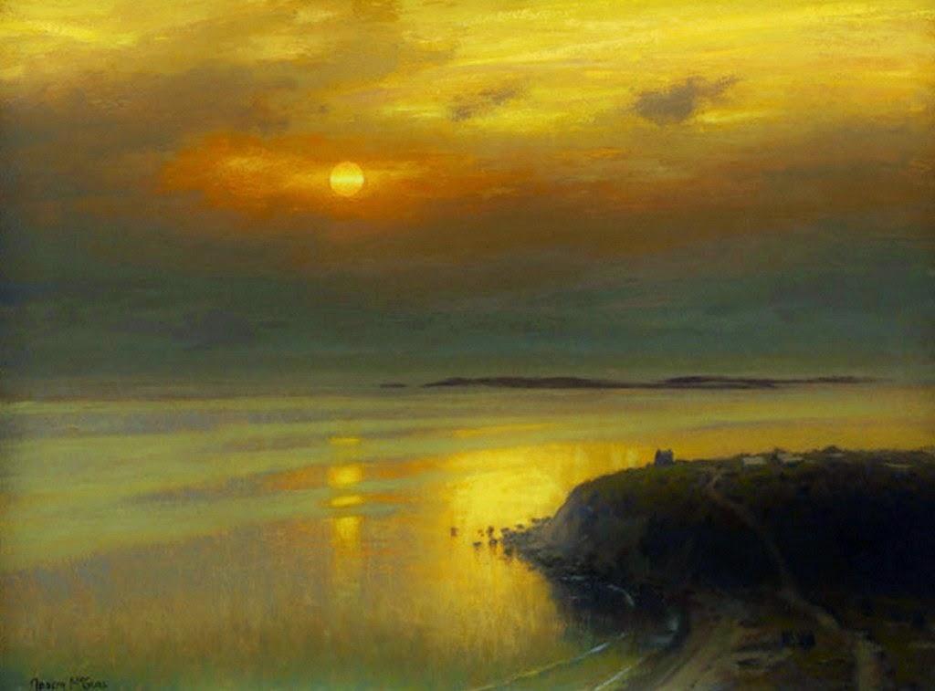 Im genes arte pinturas hermosos paisajes en atardecer - Cuadros de atardeceres ...