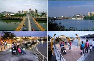 Malecones turísticos de la ciudad de Guayaquil - Malecón del Estero Salado