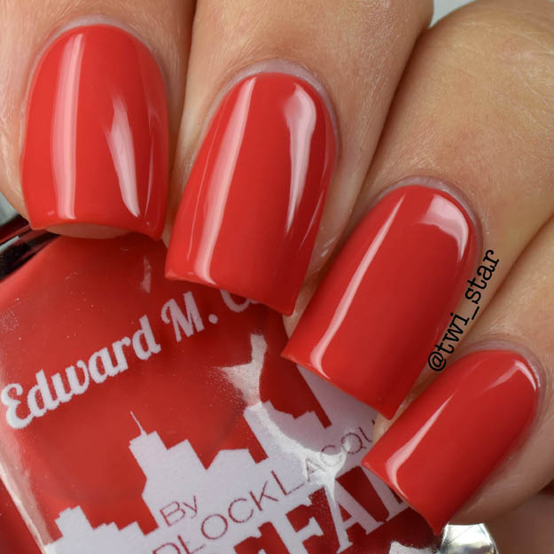 Gridlock Lacquer Buffalo Summer 2015 Collection Edward M Cotter