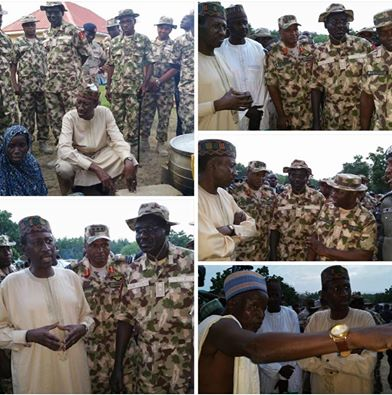 New service chiefs arrive Borno for on the spot assessment