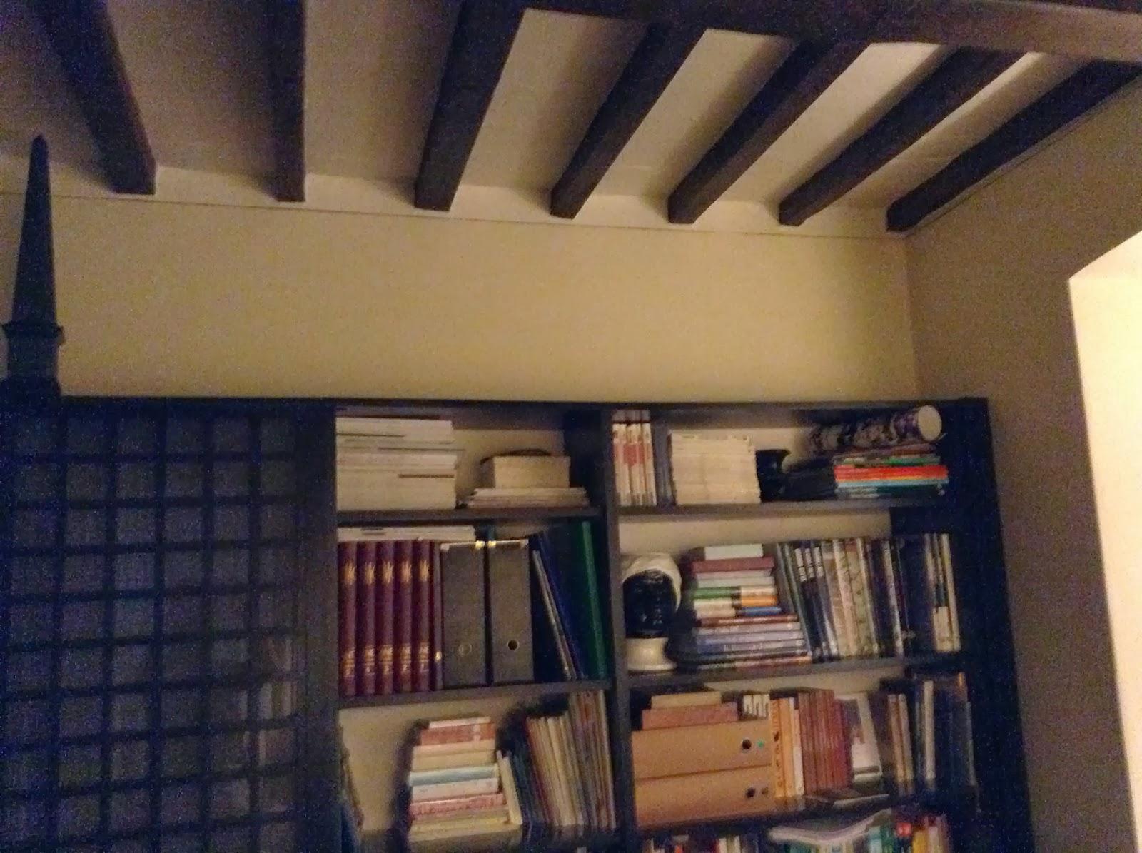 Tuscan Glam: libreria di maurizio prima e dopo e ispirazione Bonan