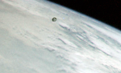Dark UFO Seen By Astronaut In Apollo 11 Mission, UFO Sightings