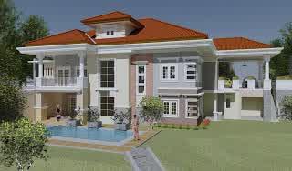 Rumah Idaman Bergaya Mewah Dan Elegan