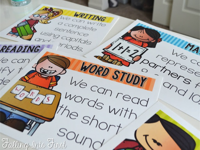 Editable Objective signs. Type and display in the classroom!