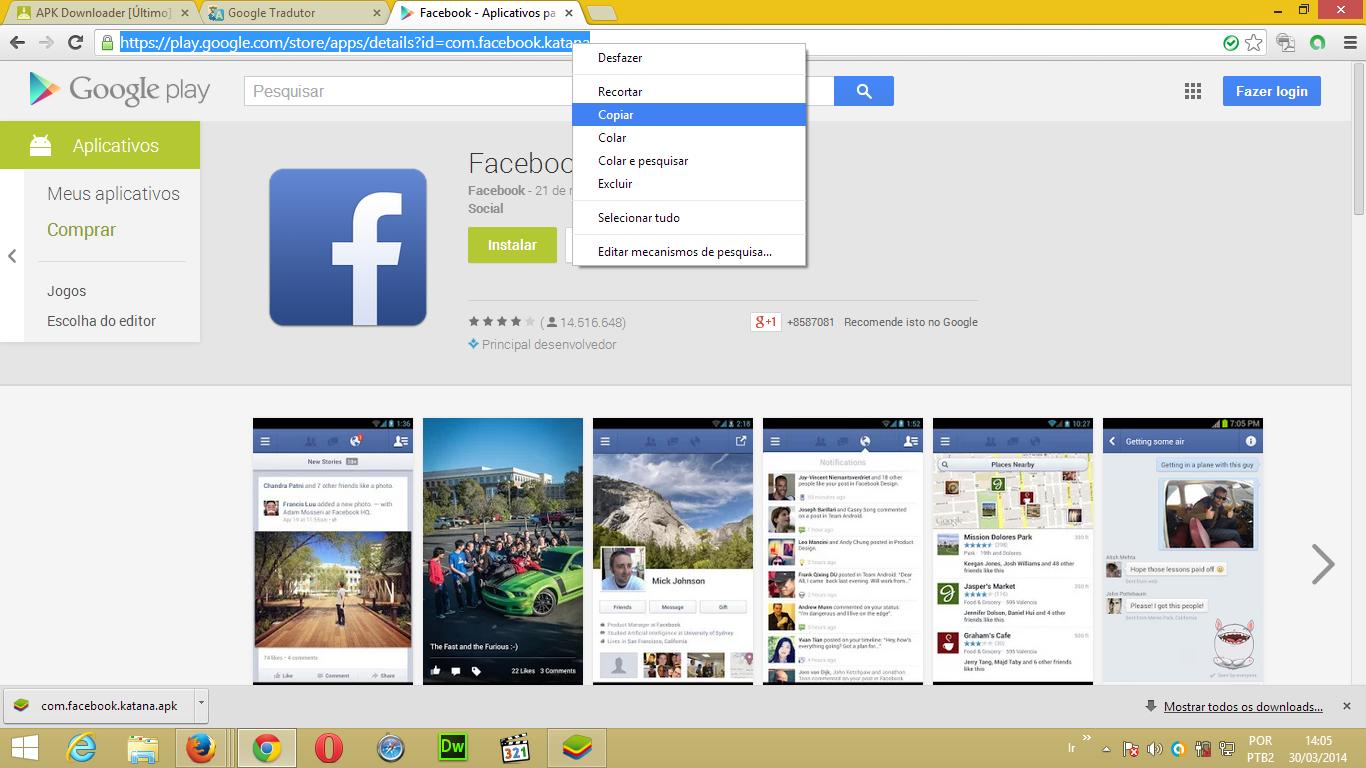 Pronto Agora é só fazer o download dando um click em Download APK ...