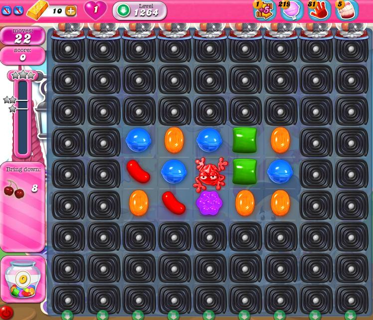 Candy Crush Saga 1264