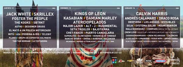 cartel-días-artistas-Festival-Estéreo-Picnic-2015