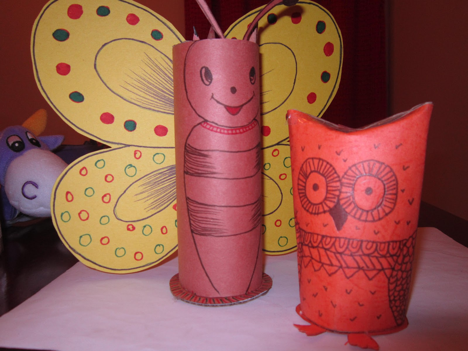 Divine art simple craft projects for kids for Art and craft for kids from waste material
