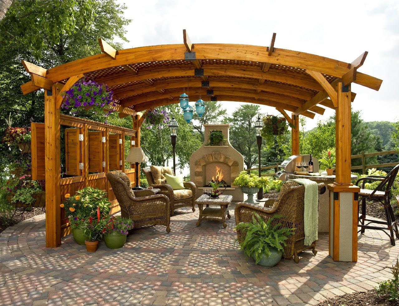 Pergola Design Plans Home