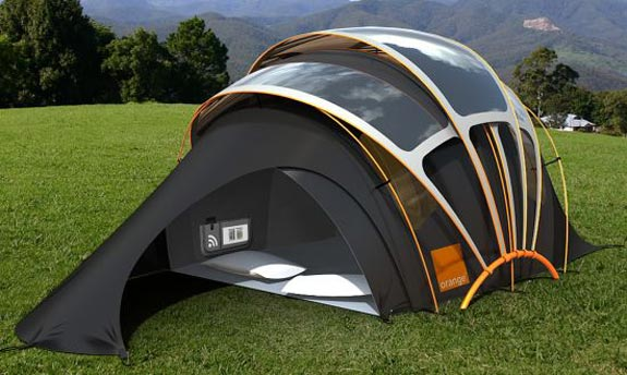 High-Tech Solar Tent 01