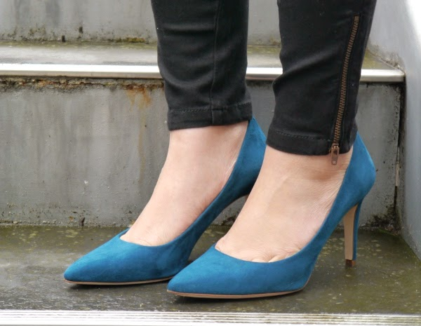 J. Crew 'Everly' pumps in Matisse blue