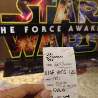 star wars, the force awakens, ticket, tiket, cinemax, film, movie