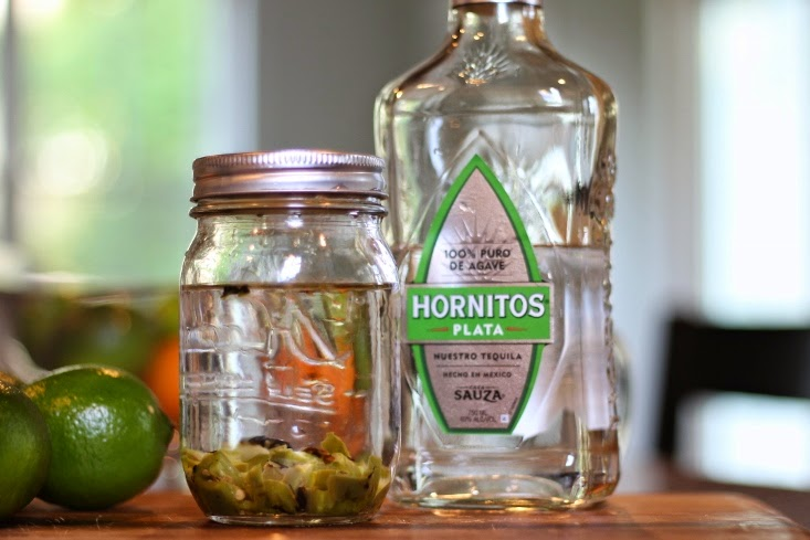 DIY Homemade Spicy Tequila