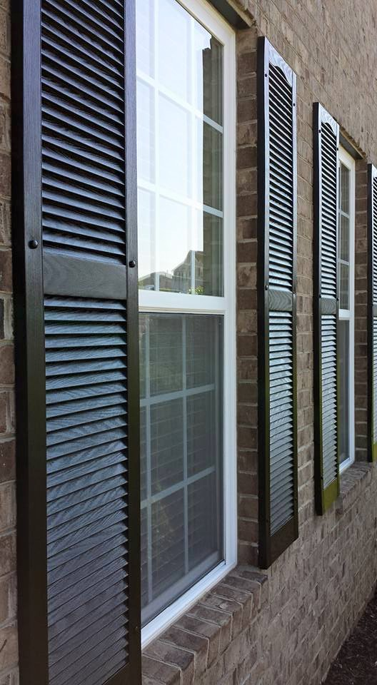 Exterior Home Improvements siding home improvements fairfax va Focal Point Styling Exterior Home Improvements With Black Shutters Lights Doors