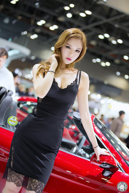 3 Yu Jin - Seoul Motor Show 2015 - very cute asian girl-girlcute4u.blogspot.com